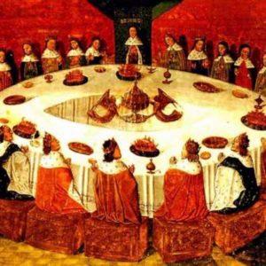 Ridders aan ronde tafel